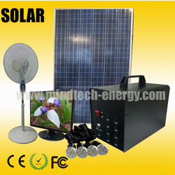 60w solar home and street lighting system