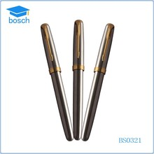 bussines gift personalized pen white copper pen metal