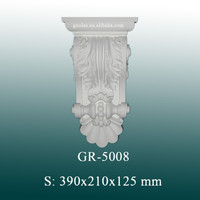 Decorative PU Corbels, Hand Carved Corbels for Column Design