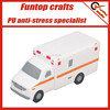 High quality polyurethane foam ambulance stress toy