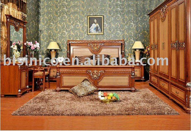country style sleeping room furniture b49136