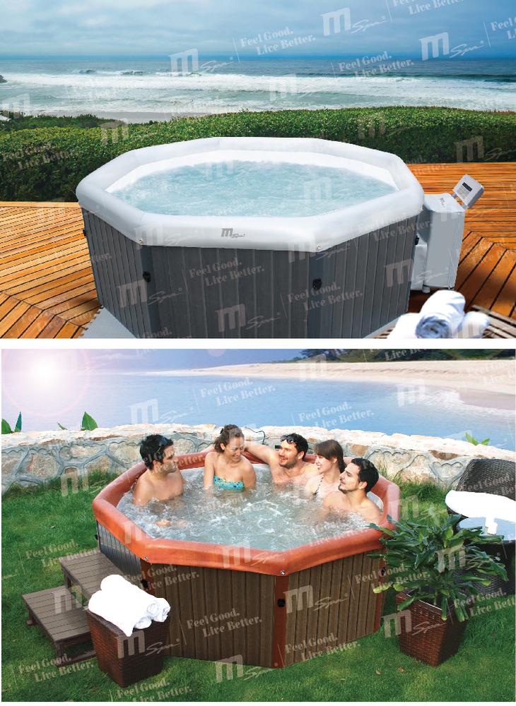Freestanding spa piscina banheira banheira de for Piscina portatil grande