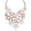 wholesale beautiful zinc alloys necklace accessories