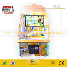 Arcade happy pitching game machine/redemption game machine for sale