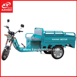 2015 Luxury Electric Cargo Tricycle For Cargo Loading / Electric Tricycle Rickshaw