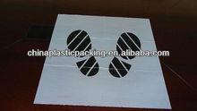 plastic Car foot mat--used keep new car clean