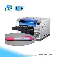 Hot Sale 8 Color UV Flatbed Digital Pen Inkjet Printing Machine UV Inkjet Type