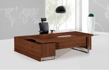 diseño italiano de escritorio de oficina de madera maciza escritorio de oficina moderna