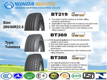 Radial truck tyre TBR tyre for all for all position wheels BOTO brand 295/80R22.5 for highway and mining road