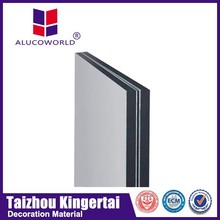 Alucoworld advanced construction materials fireproof acp manufacturer in guangdong