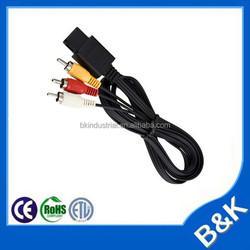 Belgium RCA to RCA Cable manufacturers N64 Video AV Cables for games