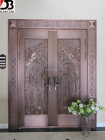 Front Copper Steel Entry Doors For Homes