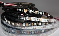 2015 WS2812B Smart led pixel strip,Black/White PCB,30/60/144 leds/m WS2812 IC;WS2812B/M 30/60/144 pixels,IP30/IP65/IP67 DC5V