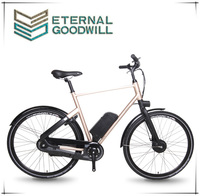 """Euro city bike price 3 speeds 28"""" aluminum city electric bicycle lithium battery adult electric bike for man and woman"""