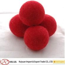 High quality 2 cm handmade wool felt balls bulk
