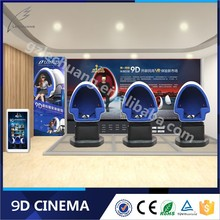 Super Quality 360 Degree VR Cinema System 9D Cinema / Simulator For Amusement Water Park