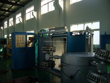 full-automatic plastic thermoforming machine, rotomolding machine, rotational molding machine,plastic thermoforming machine