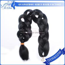 black women kanekalon braiding hair, kanekalon super jumbo braiding hair