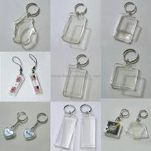 Small One Acylic Keychains Clear Material New Design With Cheap Price For Life