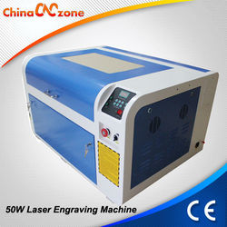 New Arrival !! 50W CO2 Laser Name Tags Engraver Machine