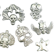 Jewelry Accessories Antiqued Silver Pewter Metal Halloween Charm
