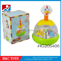 Made in China wholesale happy jumping chick baby toys HC205406