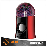 Stylish high end design round and cheap magic bluetooth speaker in best price