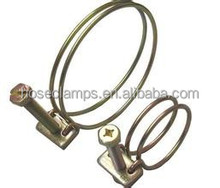 yellow coating for zinc plating wire hose clamp