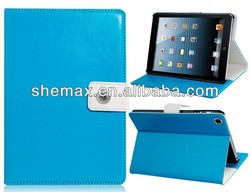For iPad Mini NoteBook Design Stand Smart Cover Luxury Leather Flip Cover Case .2013 New Case!!!