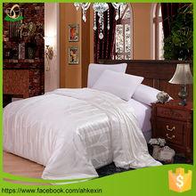 Light warm luxury silk bedding
