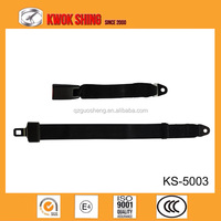 two points manual seat belt, simple two points static bus seat belt