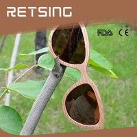 2014 new polarized bamboo wood sunglasses china, sunglasses wood for man and woman
