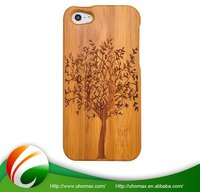 Top Quality Oem Production For Iphone 5 Plastic Wood Case