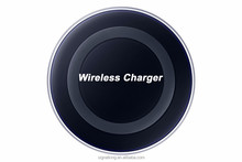 Manufacturer Wholesales New Product QI Wireless Charger Wireless Charger Pad for Samsung S6 Iphone All Android Phones