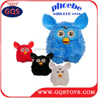 ELECTRIC TOUCH PLUSH PHOEBE REPEAT TALKING PLUSH TOY WITH LED EYES FOR KIDS