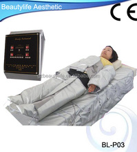 2015 new far infrared pressotherapy lymphatic drainage home use CE approved appliance
