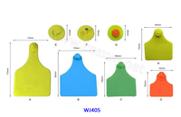 WJ405 ear tagging livestock numbered plastic tags