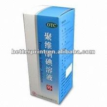 Certificated packing paper box printing
