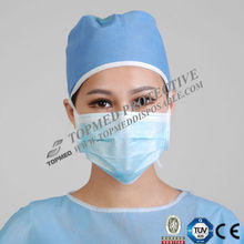 Nelson BFE 99% Face Disposable Surgical Mask