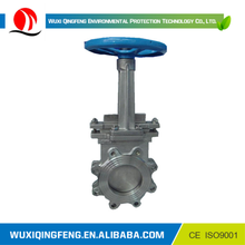 QF knife gate valves with cylinder,stainless gate /check valve