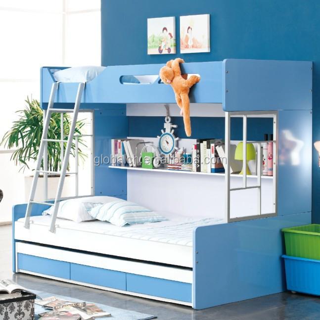 Enfants meubles lits superpos s avec tiroirs et escaliers lit d 39 enfant id - Lit superpose avec escalier ...