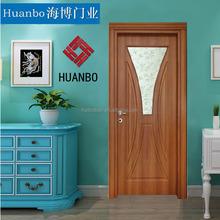 Light OAK Whole sale security wood MDF PVC door FOR bedroom