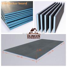 Rigid foam insulation backer board