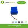 China manufacturer lifepo4 battery pack 26650 6.4V 9Ah With BMS for solar storage li ion battery