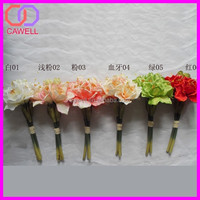 decoration multi colored artificial flowers manufacture hippeastrum flowers sample red wedding bouquets