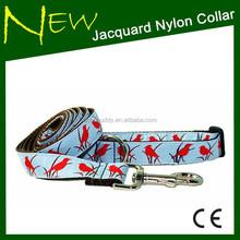 2015 New fashion style DIY Jacquard Nylon Collar for Dog