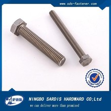 Products made in china high quality and low price 8.8 grade carbon steel white galvanized hex bolt and nut