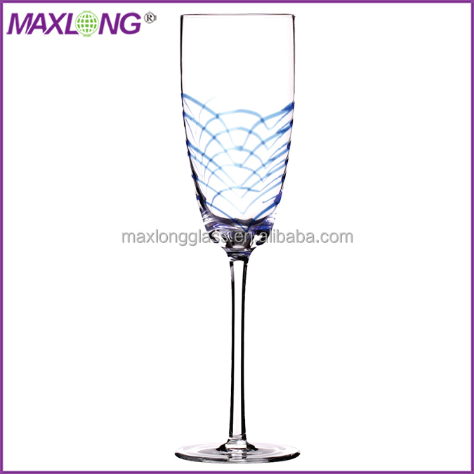 Handmade unique design fancy champagne flutes view fancy champagne flutes oem product details - Unusual champagne flutes ...