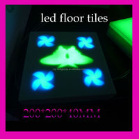 led floor tile light 4w 64pcs AC24V ip65 butterfly with single color