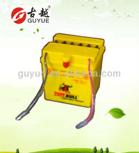 12v 2.5ah motorcycle operate battery/cooperate with gs yuasa